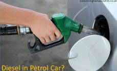 diesel in a petrol car